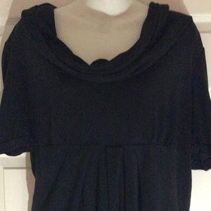 Black New York & Co. Blouse Size Large